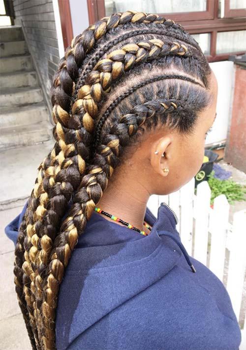 Braided Hairstyles Braids Amp Plaits Fashionisers 169 Part 3