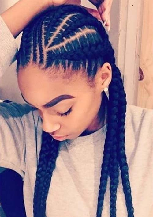53 Goddess Braids Hairstyles