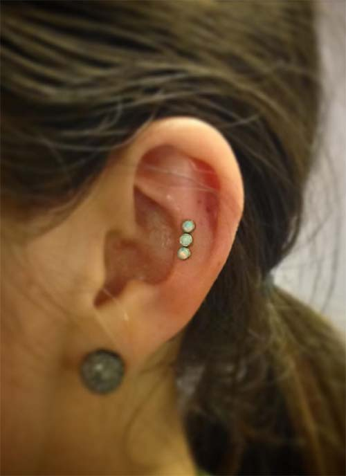 Ear piercings types of ear piercings history for Piercing orecchio dilatatore