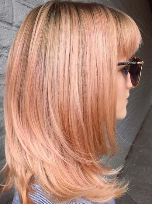 21 Amazing Blorange Hair Color Ideas That Take Instagram