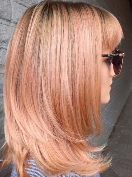 Blorange Hair Color Ideas