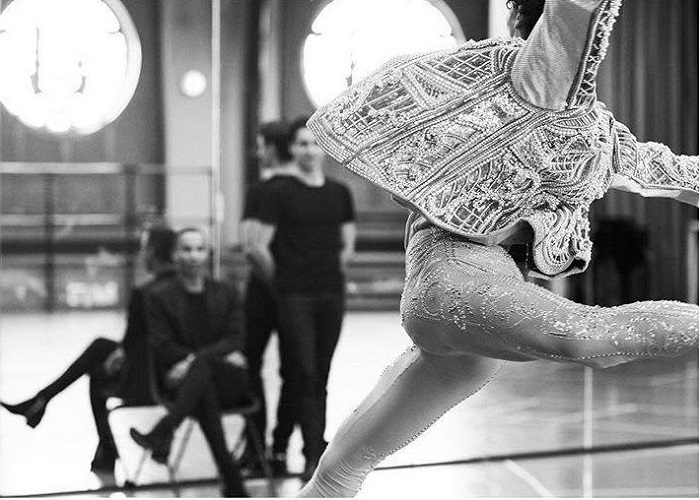 Balmain's Costumes for The Paris Opéra are All About Glamour Male Dancer