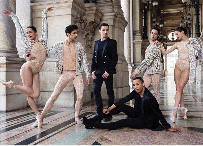 Balmain's Costumes for The Paris Opéra are All About Glamour Olivier Rousteing