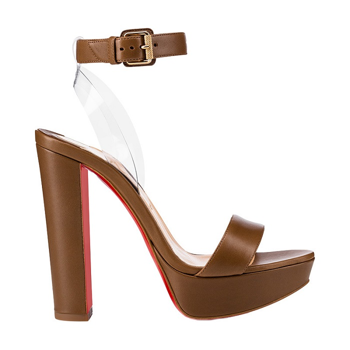"Christian Louboutin Expanded his ""Nudes"" Collection with High-Heeled Sandals Cherrysandal"