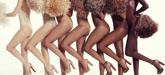 "Christian Louboutin Expanded his ""Nudes"" Collection with High-Heeled Sandals"