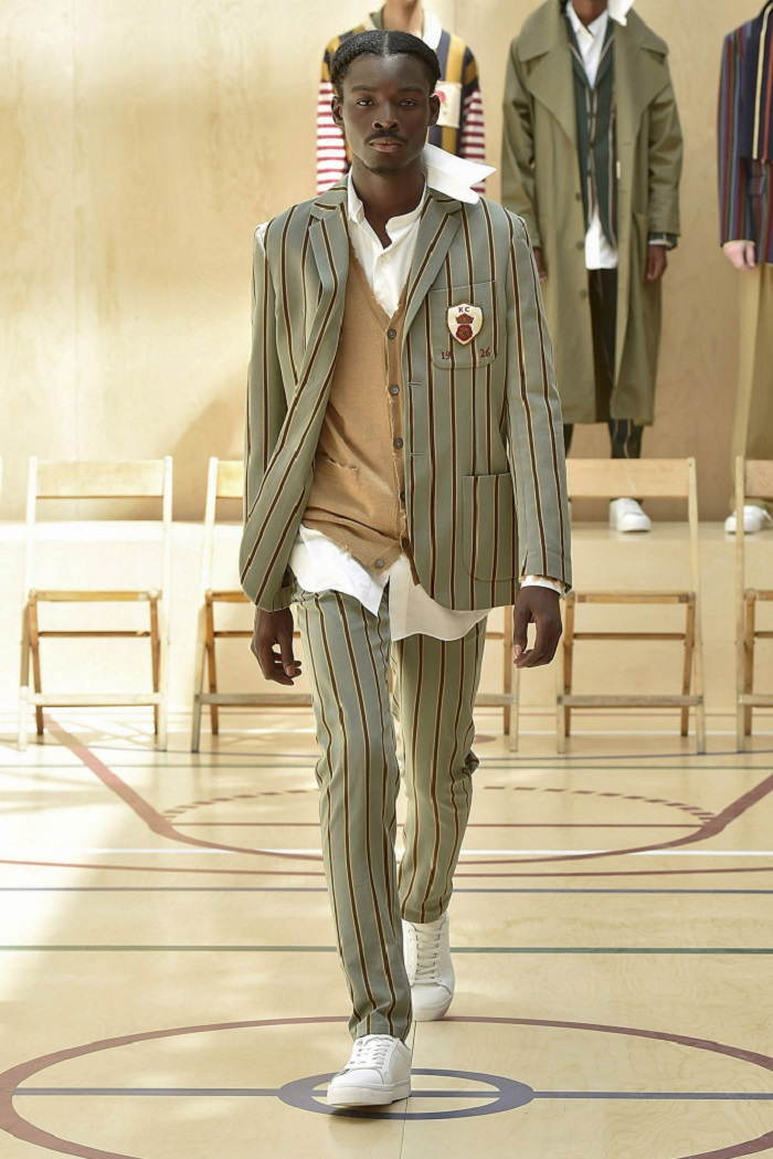 Kent & Curwen Men's Spring 2018 Collection pants blazer