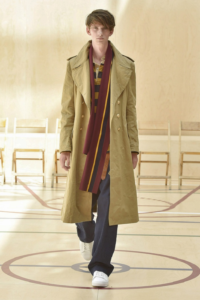 Kent & Curwen Men's Spring 2018 Collection blazer pants trench coat