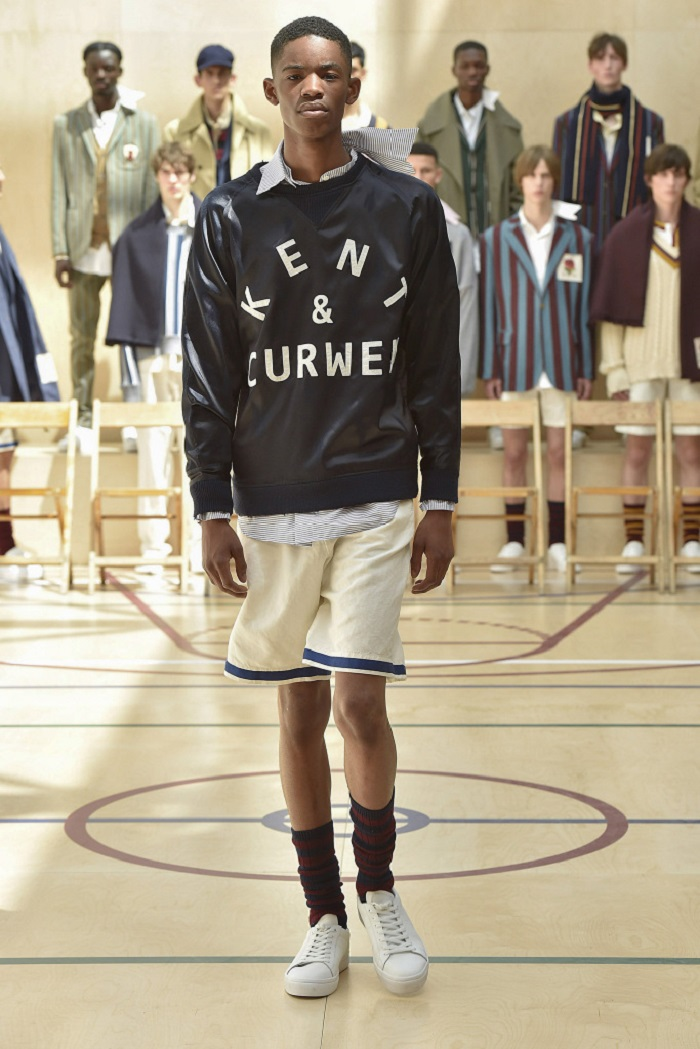 Kent & Curwen Men's Spring 2018 Collection shorts sweatshirt