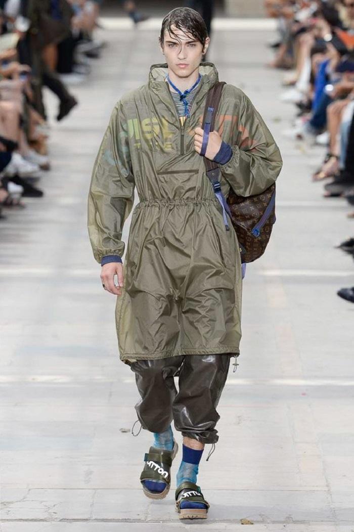 Louis Vuitton Men's Spring 2018 Collection logo jacket