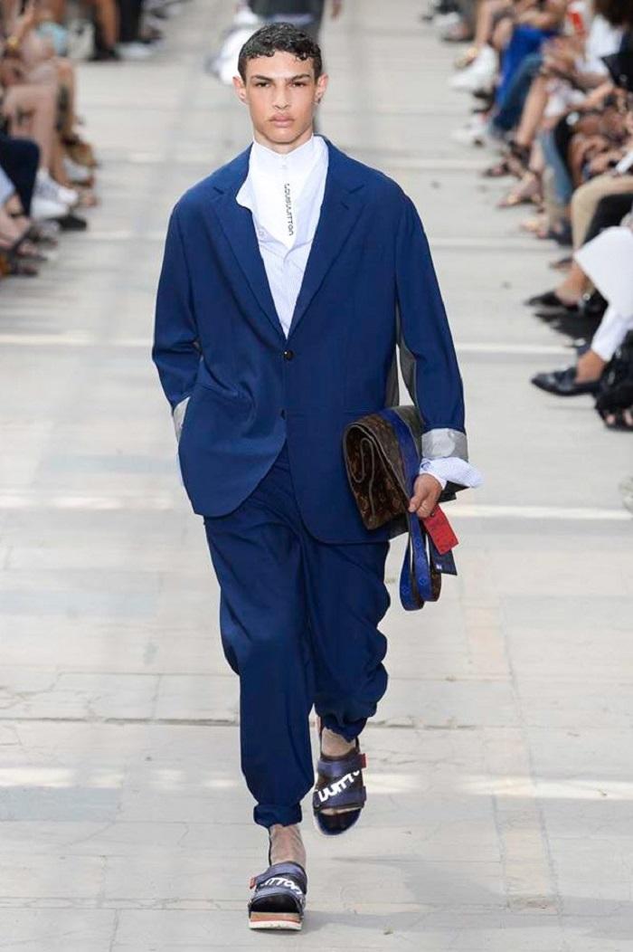 Louis Vuitton Men's Spring 2018 Collection suit