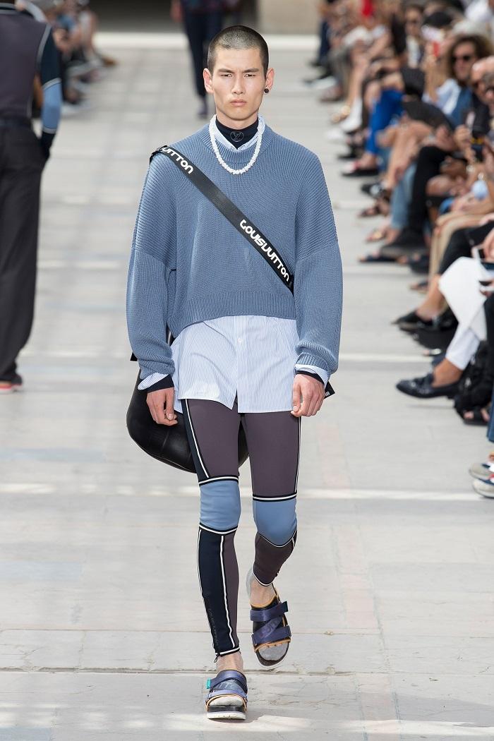 Louis Vuitton Men's Spring 2018 Collection scuba pants