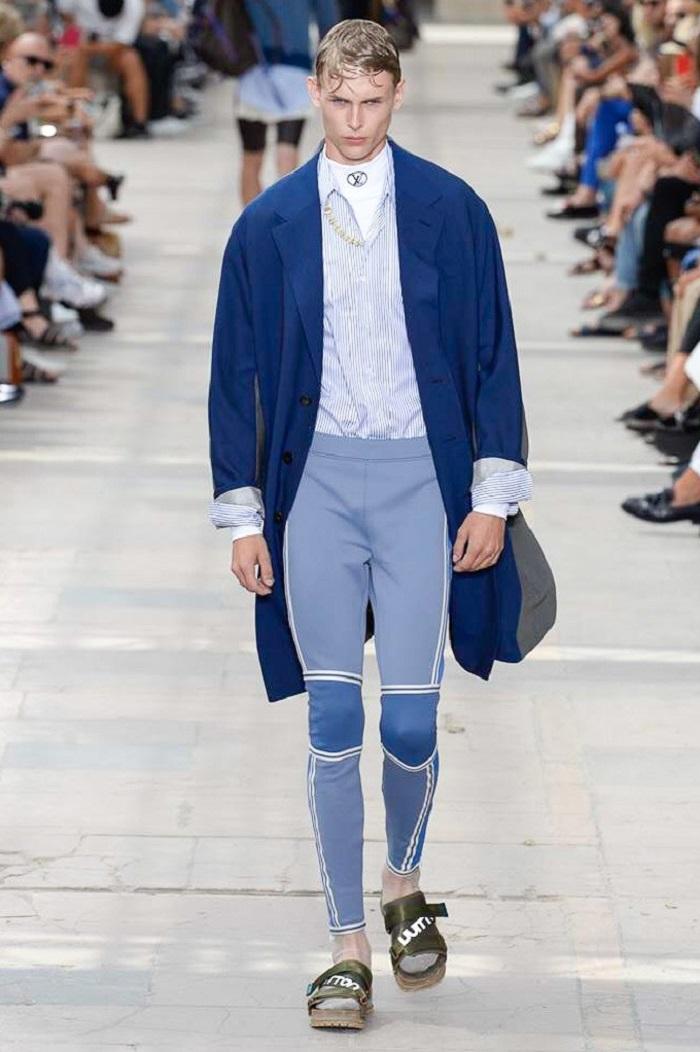 Louis Vuitton Men's Spring 2018 Collection scuba pants, shirt