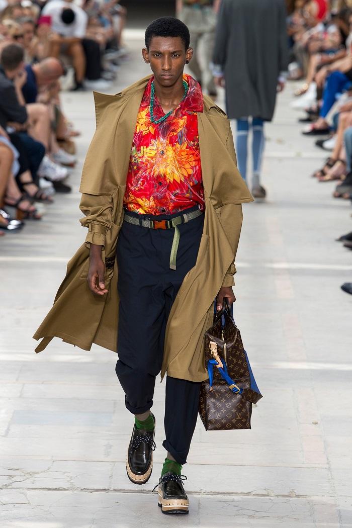 Louis Vuitton Men's Spring 2018 Collection aloha shirt