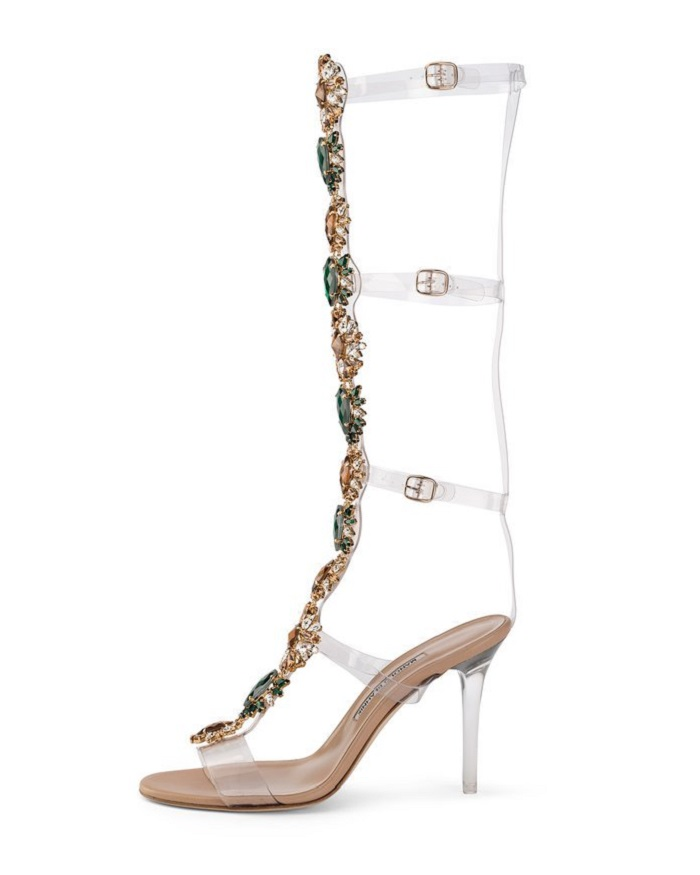 "Rihanna and Manolo Blahnik unveil their ""So Stoned"" Collection poison ivy"