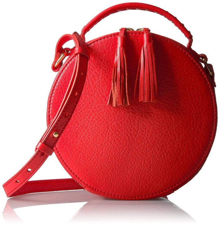 "Amazon Debuts ""The Fix"" a Stylish Shoe and Handbag Line red cross body bag"