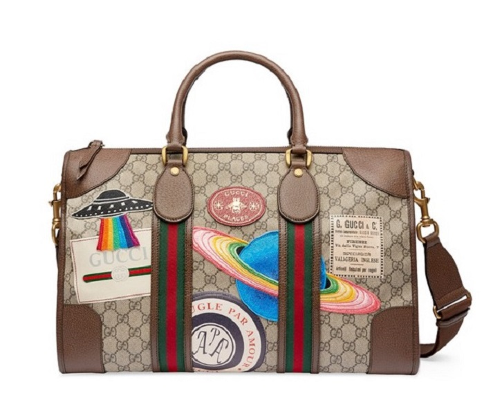"Gucci is Launching the Travel App ""Gucci Places"" travel bag"