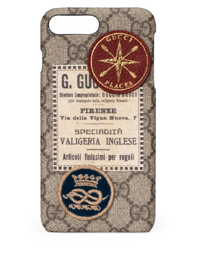 "Gucci is Launching the Travel App ""Gucci Places"" phone case"