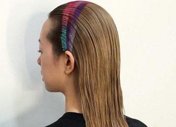 This Spray-On Rainbow Headband is a Fun, Temporary Accessory