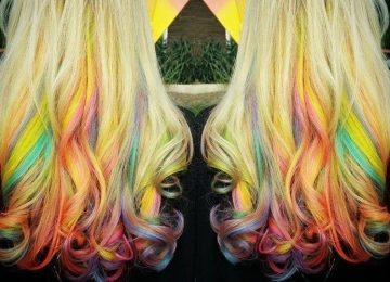 The Colorful Fruity Pebbles Hair Trend is Taking Over Instagram