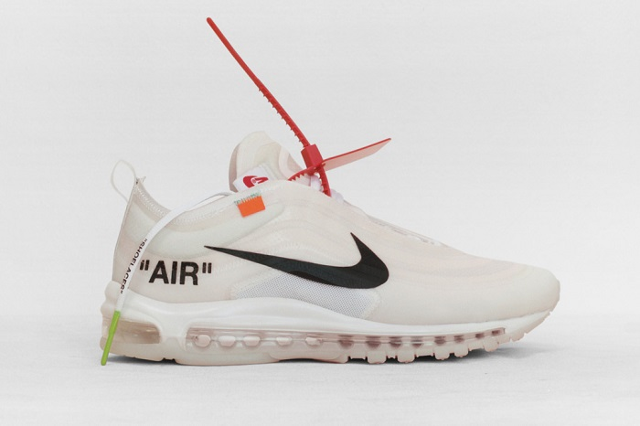 """""""The Ten"""""""" is an Amazing Sneaker Collection by Nike and Virgil Abloh Virgil Abloh X Nike Air Max 97"""