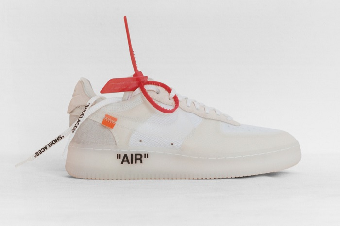 """""""The Ten"""""""" is an Amazing Sneaker Collection by Nike and Virgil Abloh Virgil Abloh X Nike Air Force 1 Low"""