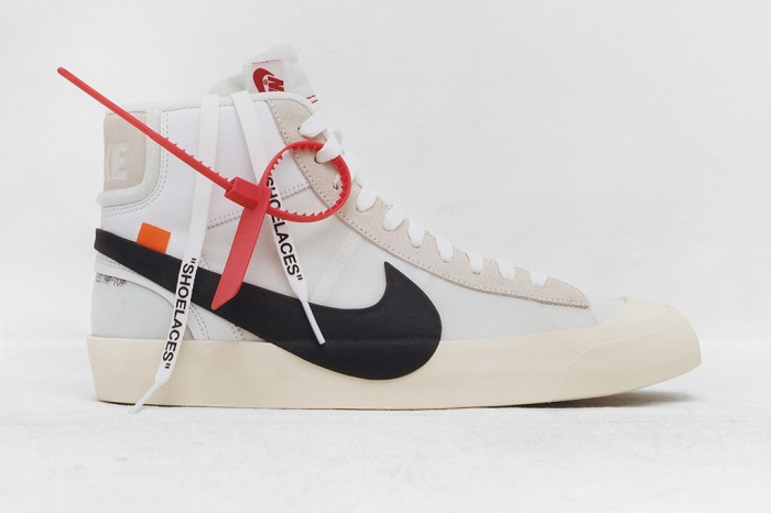 """""""The Ten"""""""" is an Amazing Sneaker Collection by Nike and Virgil Abloh Virgil Abloh X Nike Blazer Mid"""