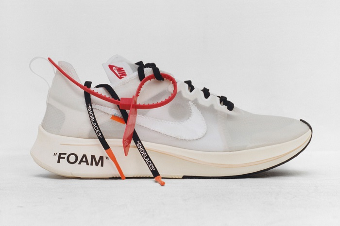 """""""The Ten"""""""" is an Amazing Sneaker Collection by Nike and Virgil Abloh Virgil Abloh X Nike Zoom Fly SP"""