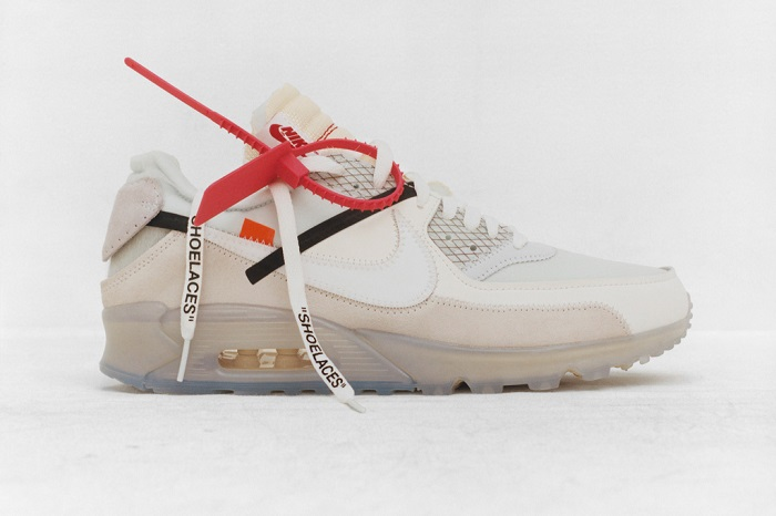 """""""The Ten"""""""" is an Amazing Sneaker Collection by Nike and Virgil Abloh Virgil Abloh X Nike Air Max 90"""