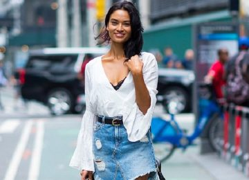 Best Street Style Looks From The 2017 Victoria's Secret Casting