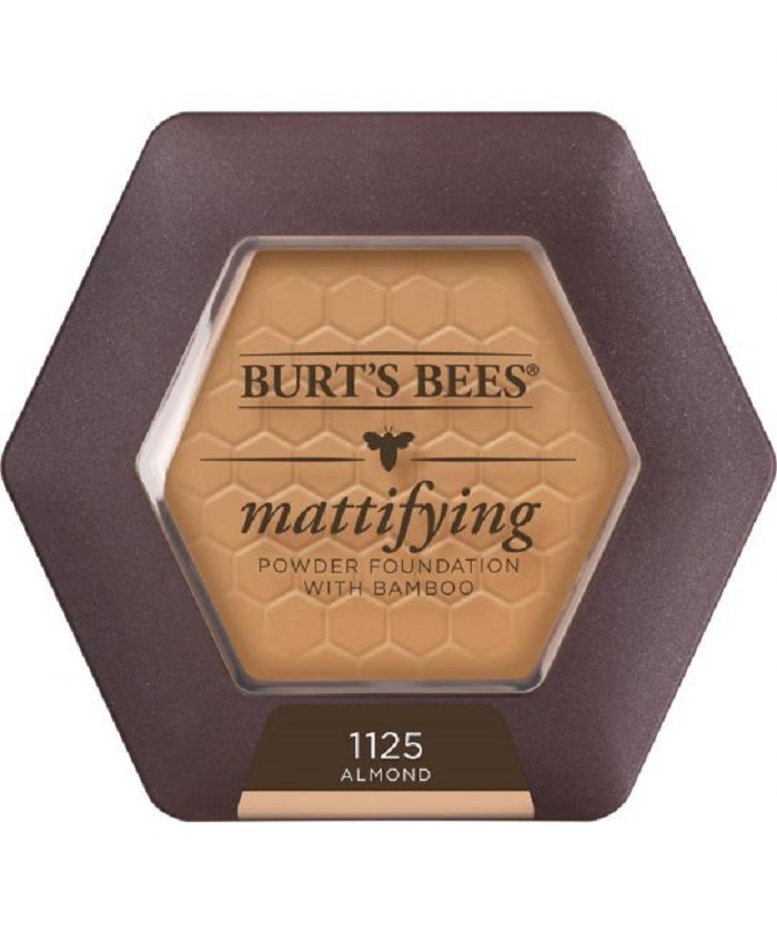 Burt's Bees Will Launch a Full Range Makeup Line pressed foundation