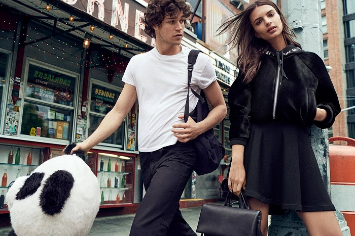 Emily Ratajkowski Masters the Street Style in DKNY's Fall 2017 Campaign 7