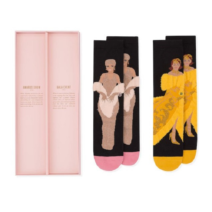 Fenty X Stance Socks Collection Features Rihanna's Most Iconic Looks CFDA Awards 2015 MET Gala 2016