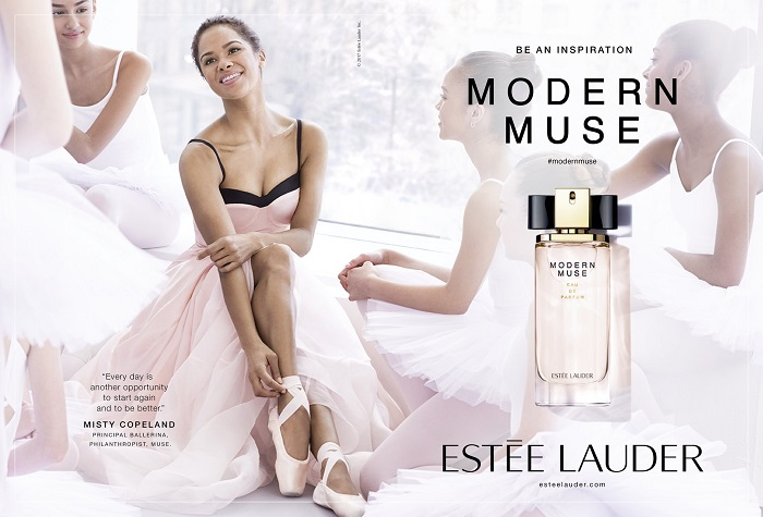 Misty Copeland is the New Estée Lauder Muse Modern Muse Perfume