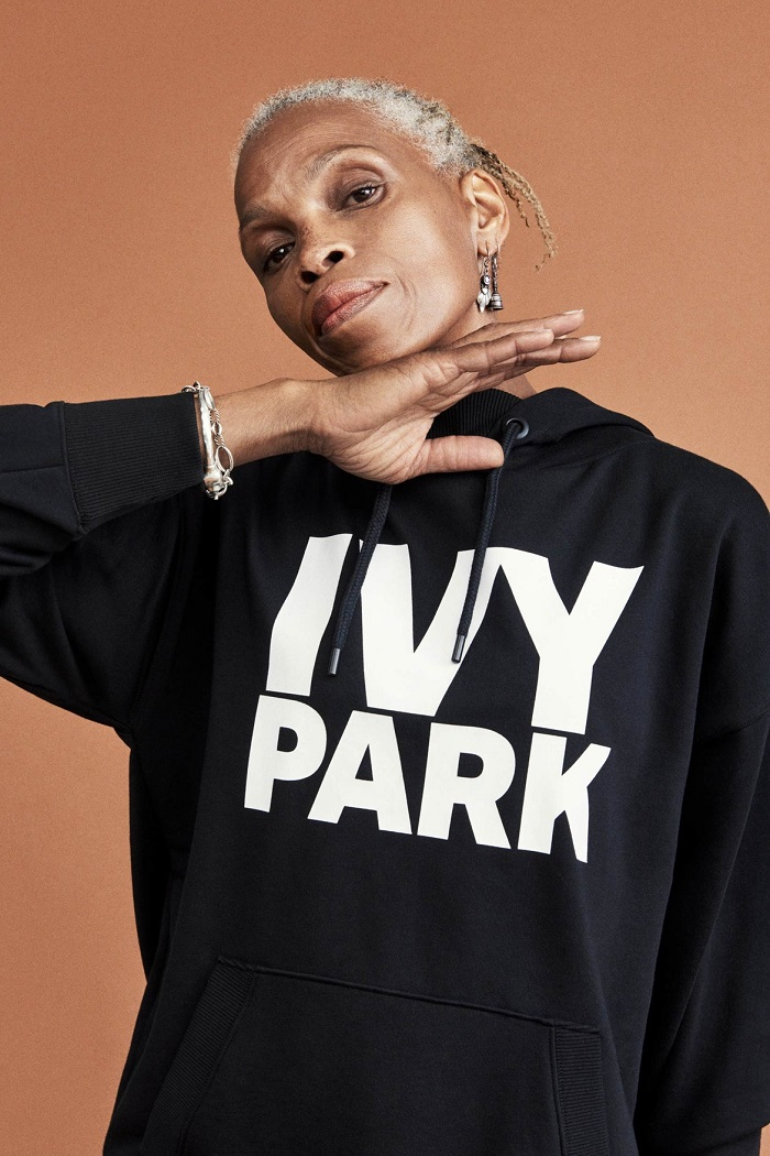 Ivy Park's Fall 2017 Collection Celebrates Diverse Beauty black hoodie