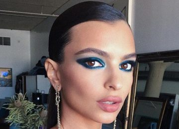 Celebrities Are Making A Case For Blue Eyeshadow