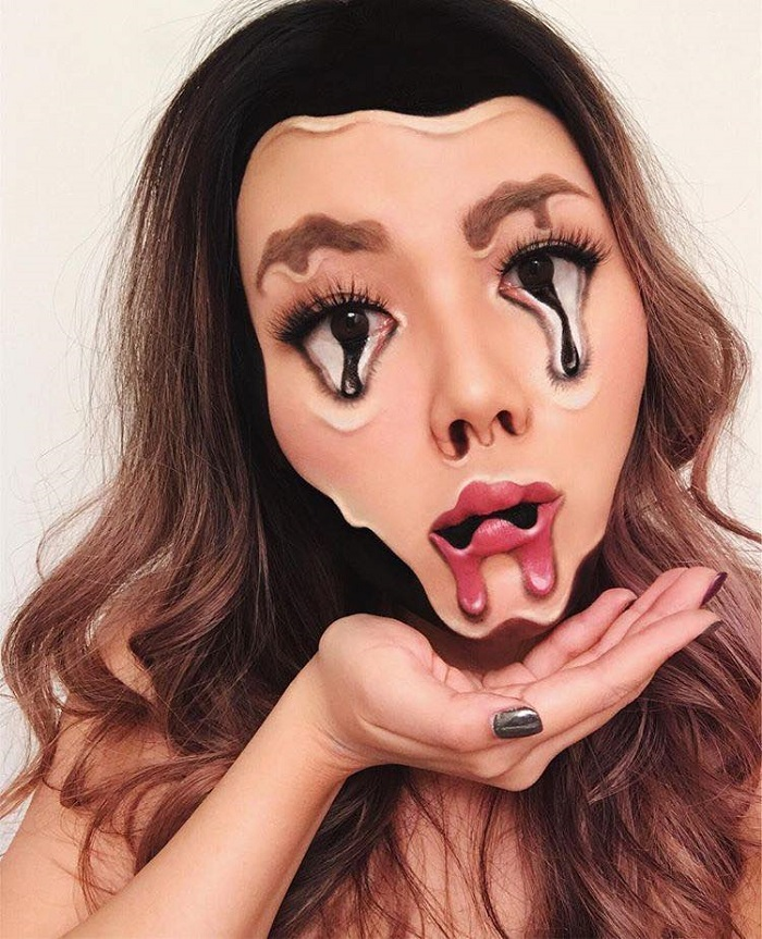Insane Halloween Makeup Ideas to Try This Year melting face