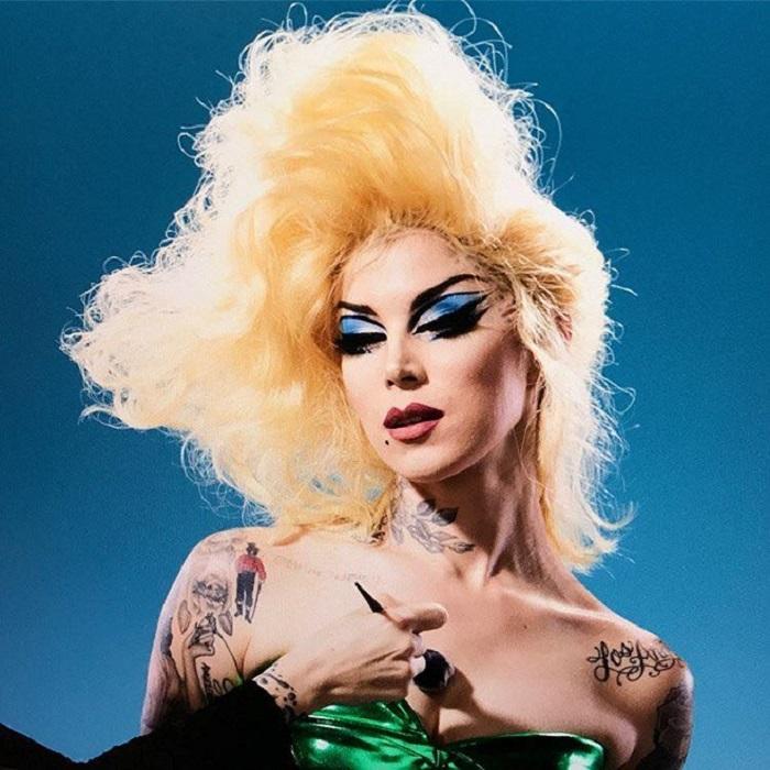 """Kat Von D X Farm Sanctuary Collaboration And The """"Divine"""" Palette divine palette and lipstick makeup"""