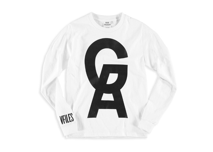 Khloe Kardashians's Good American x VFILES Collaboration & Pop-up Store white logo sweater