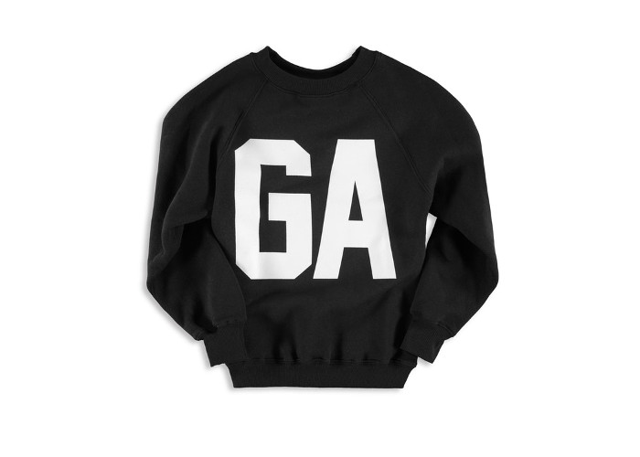 Khloe Kardashians's Good American x VFILES Collaboration & Pop-up Store black logo sweater
