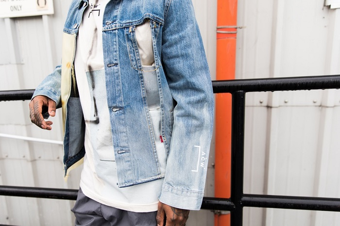 Levi's Tapped 50 Influencers to Celebrate the 50th Anniversary of the Trucker Jacket denim jacket