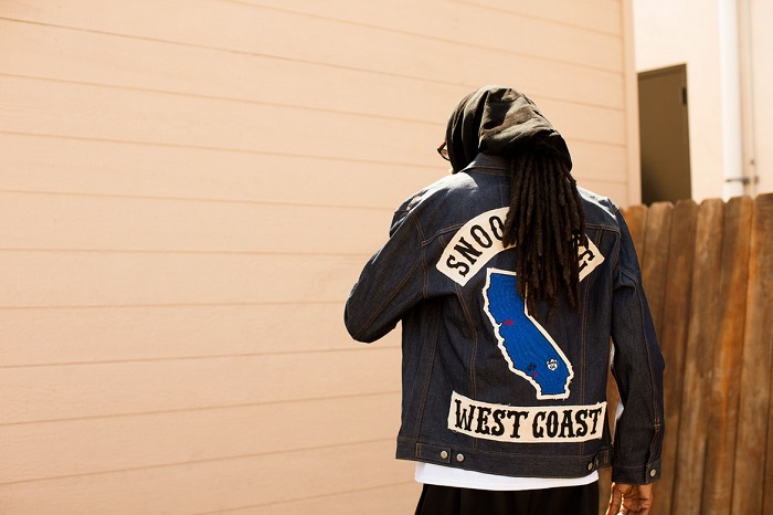 Levi's Tapped 50 Influencers to Celebrate the 50th Anniversary of the Trucker Jacket Snoop Dogg west coast jacket