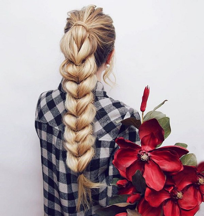 Next Level Braids voluminous braided hairstyle