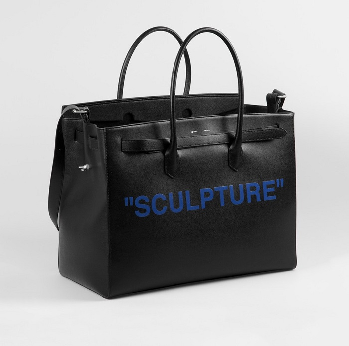 "Off-White™ And Colette Released The ""SCULPTURE"" Capsule tote bag"