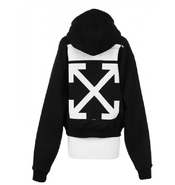 "Off-White™ And Colette Released The ""SCULPTURE"" Capsule black hoodie"