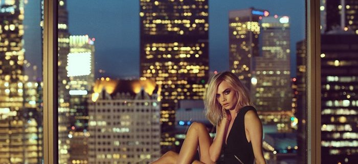 Cara Delevingne Stars In Jimmy Choo's Campaign