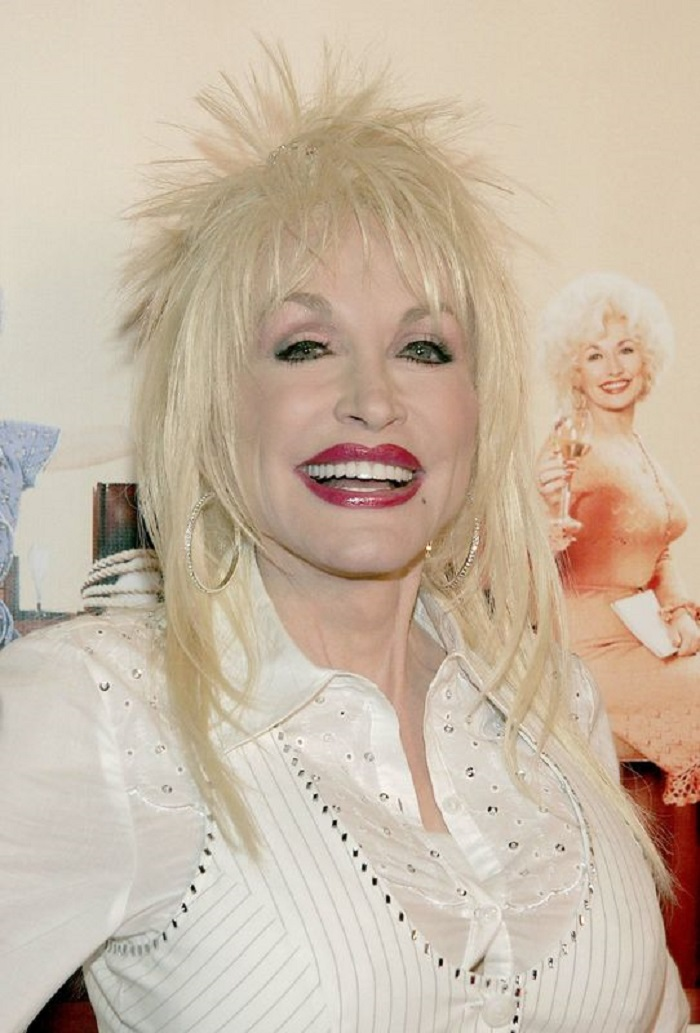 Dolly Parton's Biggest Hair Moments rock-inspired hair