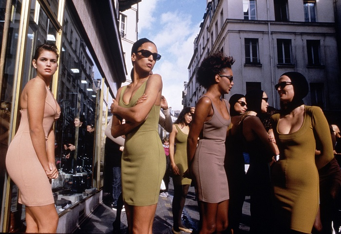The Fashion World Mourns The Death Of Azzedine Alaïa nude dresses
