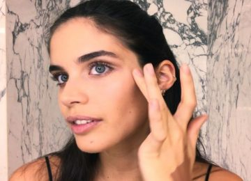 Victoria's Secret Model Sara Sampaio's Easy Bombshell Makeup Look