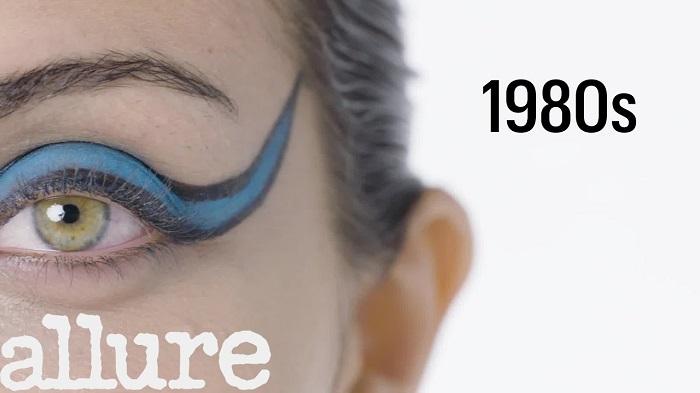 100 Years of Eyeliner 80s