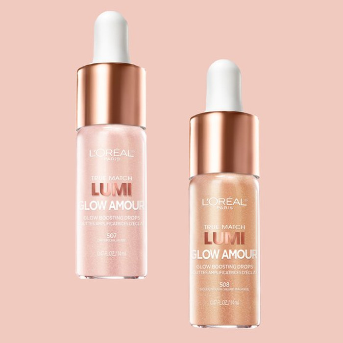Aja Naomi King Joins The L'Oréal Family Glow Amour Glow boosting drops